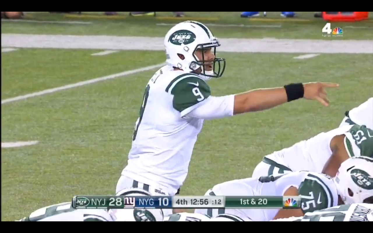 Bryce Petty vs New York Giants Preseason Week 3 Cover