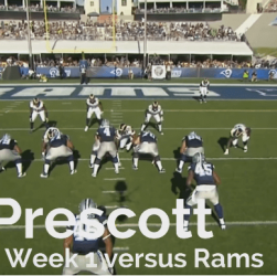 Dak Prescott Rams Preseason1 2016 Cover